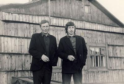 слева Свинцов В.П. справа Костарев В.П.