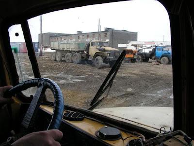 фотографии прииска Восточный 2008-подъезжаем к санбыту
