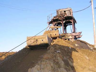 фотографии прииска Восточный 2008-каланча на шахте
