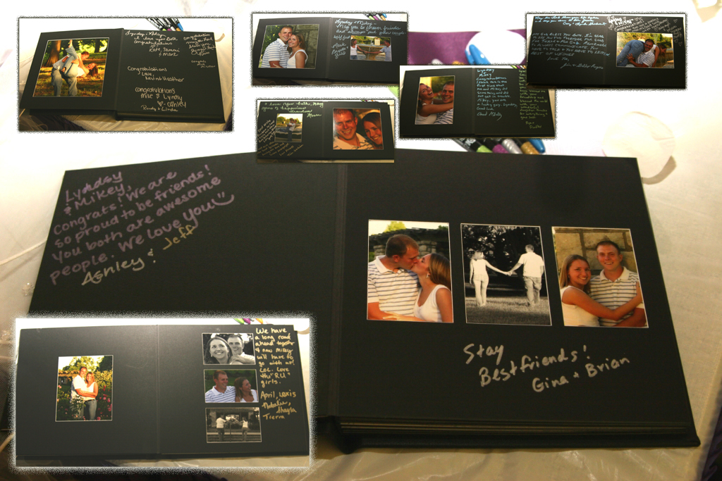 A Vintage Travel Twist to a Photo Guestbook wedding guestbook riviera maya