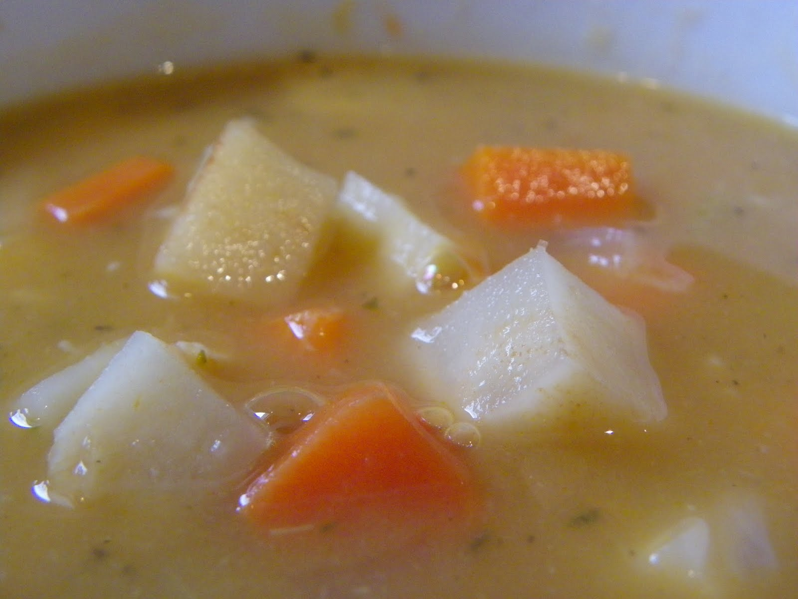 Keaton's Kind Creations: Winter Root Soup