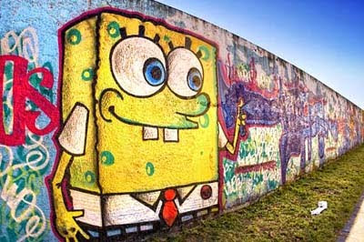 spongebob graffiti cartoon
