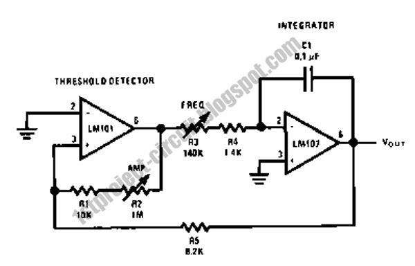 project circuit design  triangular