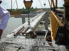 Proceso constructivo Puente sobre el Rio Soco