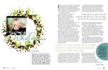 Read Tracy's September 2010 Proverbs 31 Magazine Article