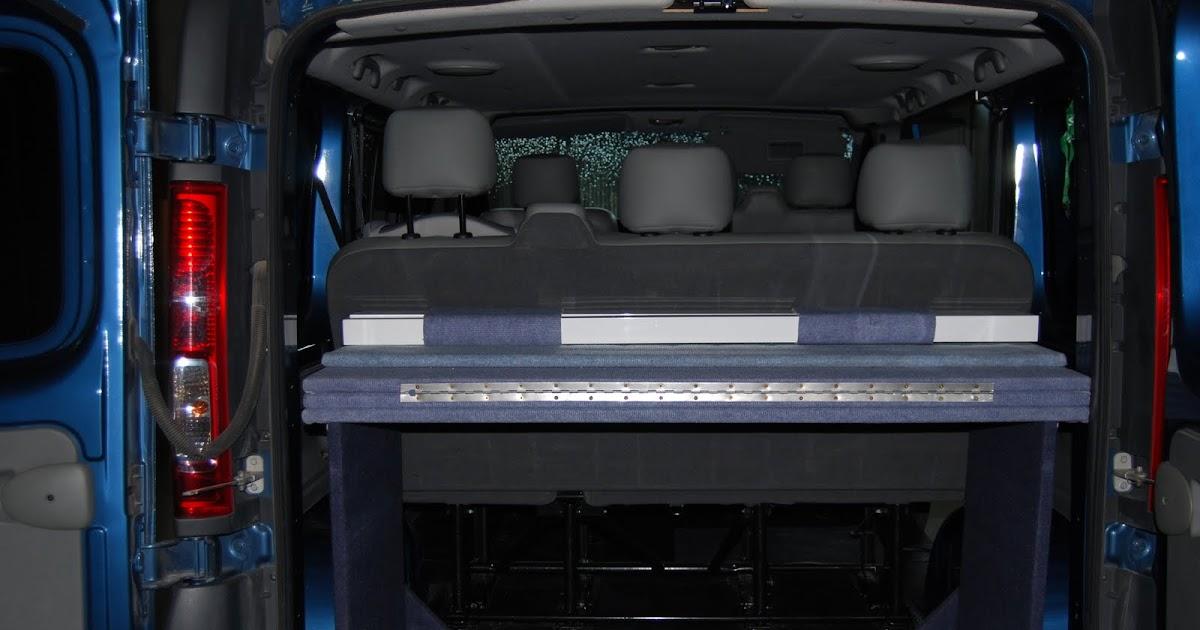 VIAJA CON FURGO Mueble cama de la furgoneta