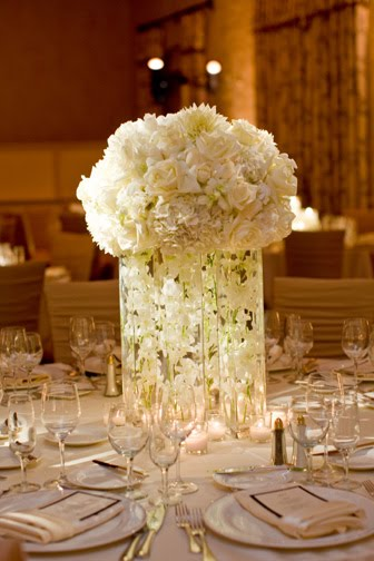 modern elegant wedding centerpieces
