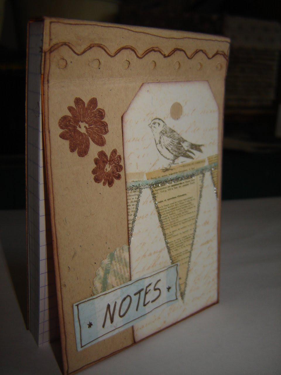 marie scrap et cie petit carnet de notes. Black Bedroom Furniture Sets. Home Design Ideas