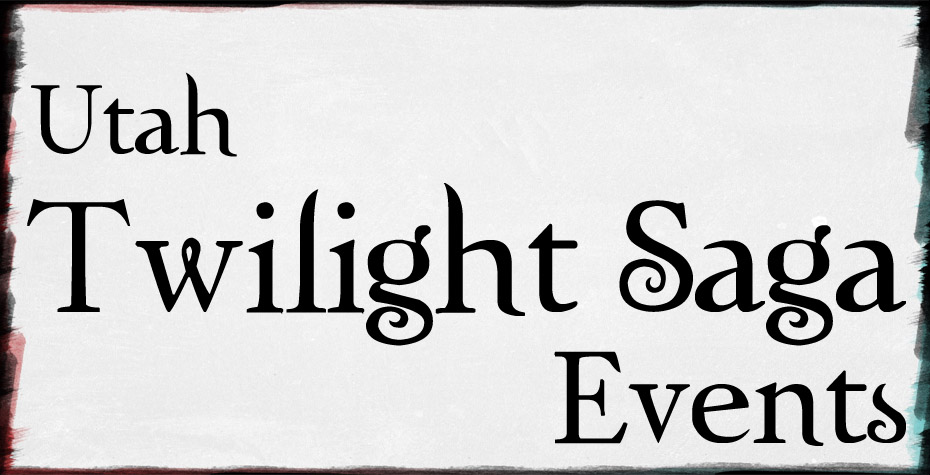 Utah Twilight Saga Events