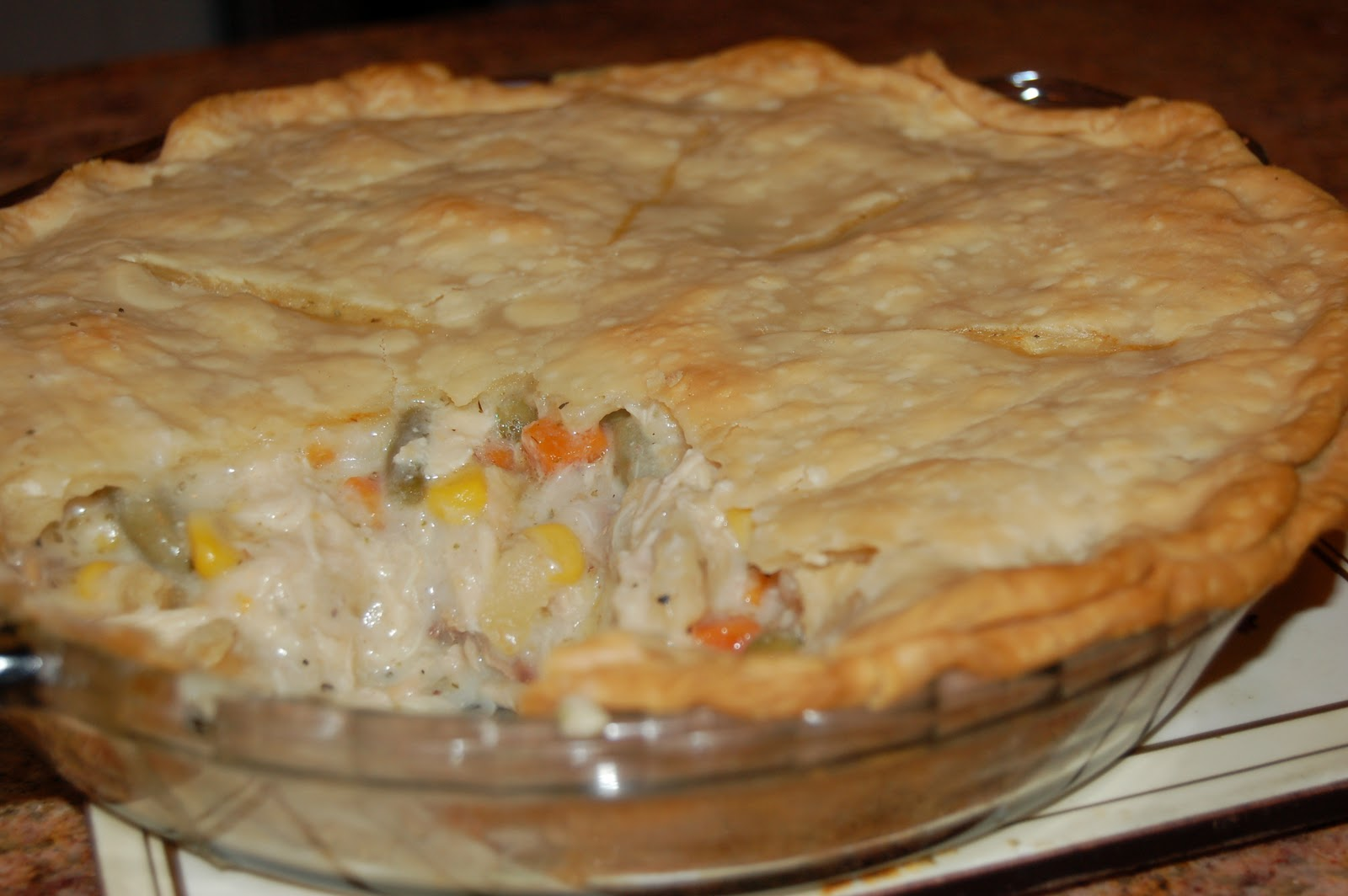 Love Being In My Southern Kitchen: Chicken Pot Pie
