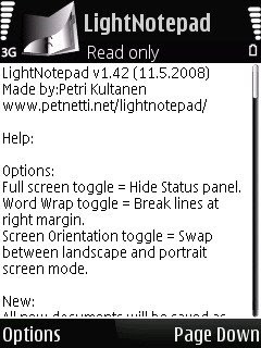 LightNotepad