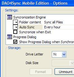 DAO4Sync computer to Nokia Symbian phone connection