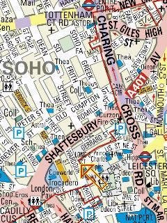 Mobile Maps London street maps, tube, overground, bus, and night bus maps