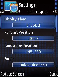 FreeTimeBox Symbian clock manager