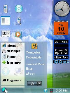 SajiOS Symbian standby screen alternative