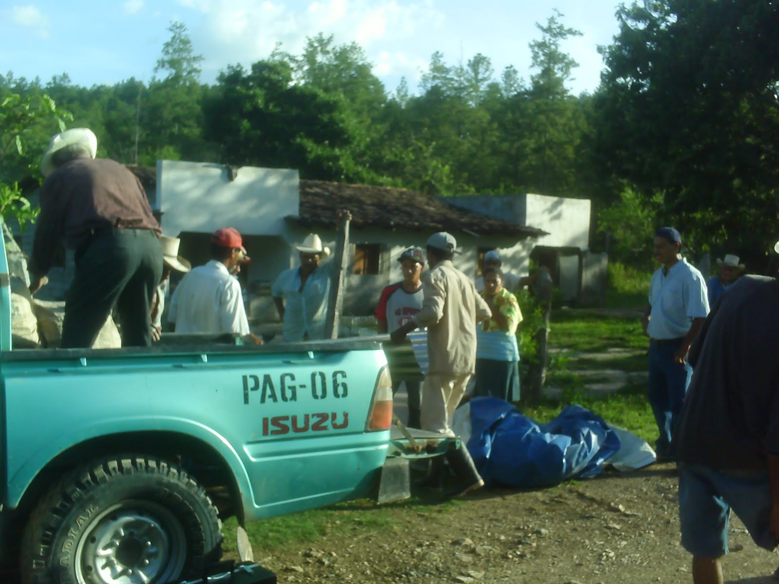 Delivering supplies to a rural village so that they can construct ...