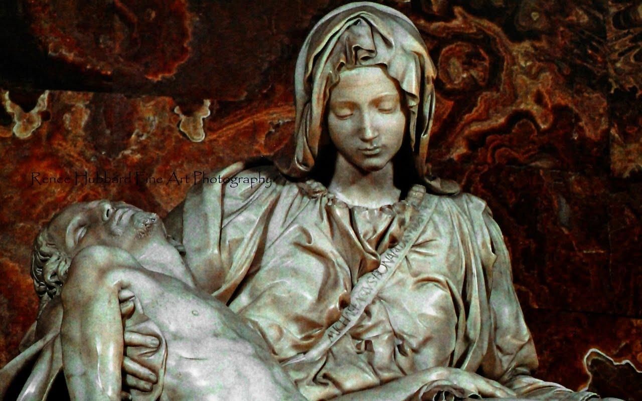 Pieta michelangelo painting