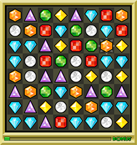 bejeweled gem play field