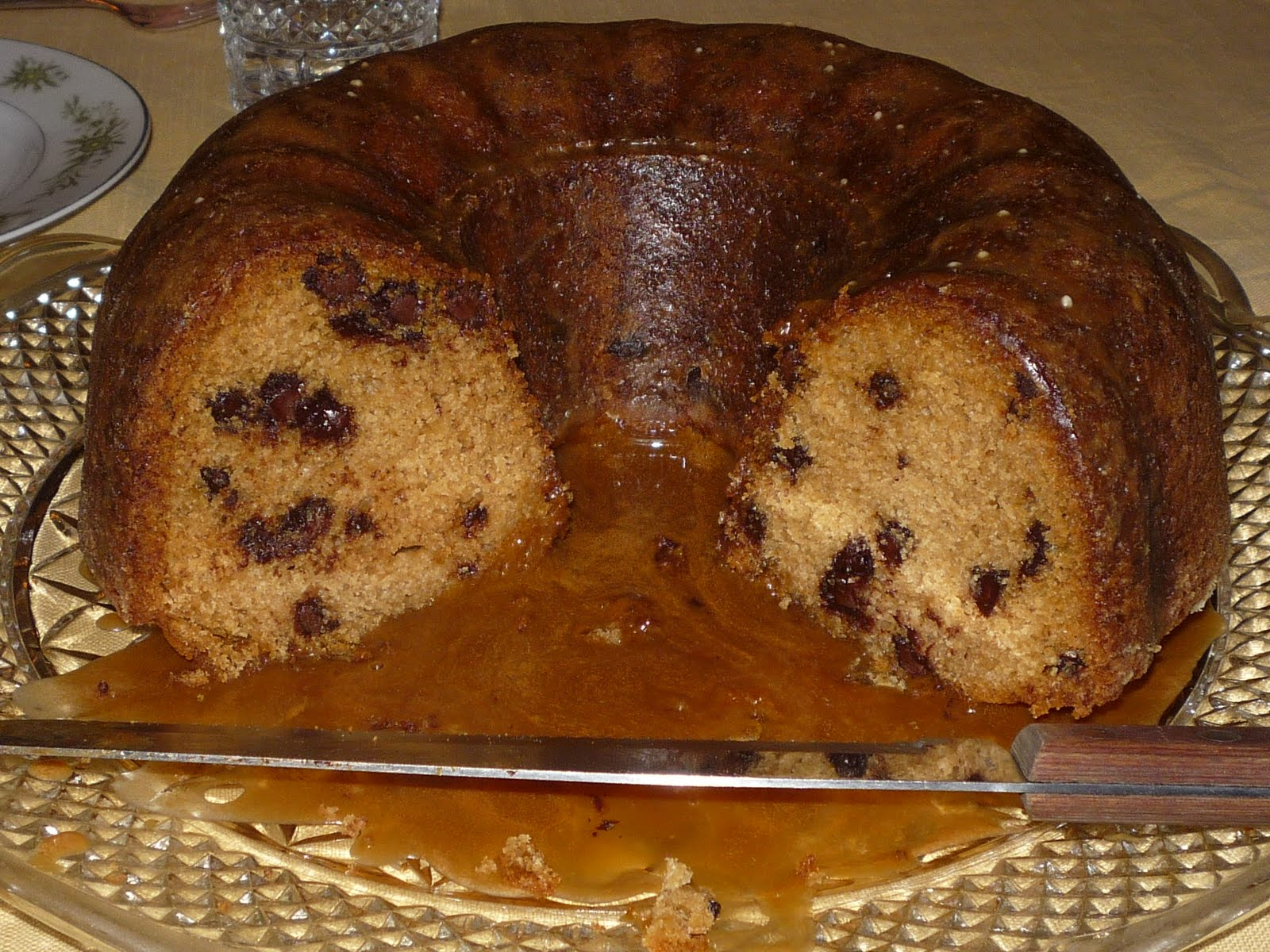 ... 66: Brown Sugar & Chocolate Chip Pound Cake with Maple Espresso Glaze