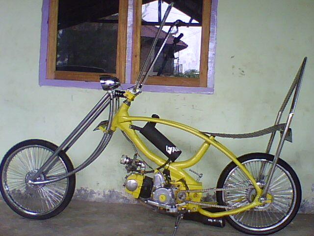 Sepeda Motor Unik Dan Keren