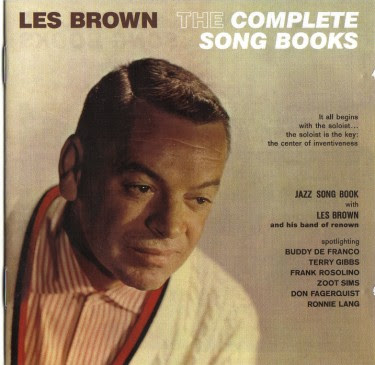 LES BROWN - THE COMPLETE   SONG BOOKS - SWING SONGBOOK
