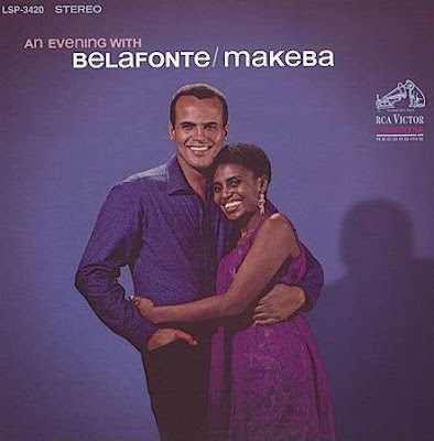 HARRY BELAFONTE - MIRIAM MAKEBA - AN EVENING WITH BELAFONTE AND MAKEBA