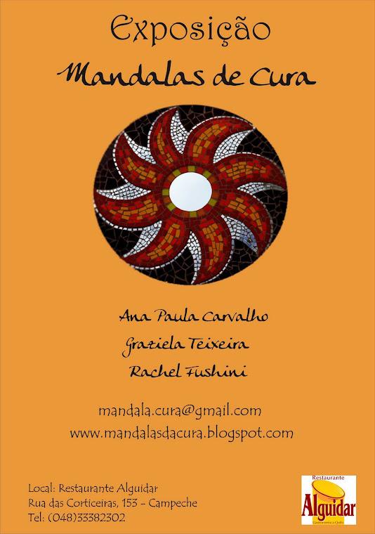 Exposição- Mandalas de Cura- Restaurante Alguidar