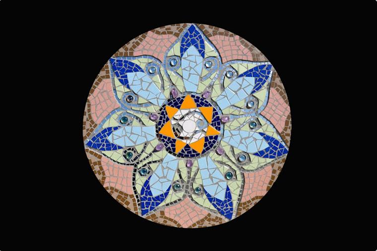 Mandala das Ametistas