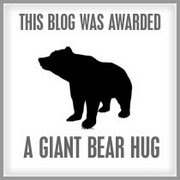 Mike awarded me this Giant Bear Hug