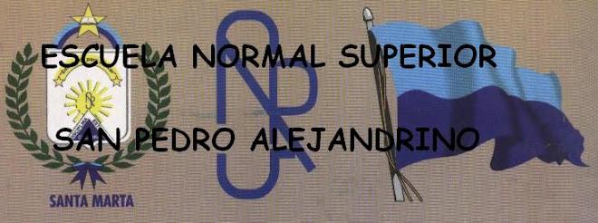 ESCUELA NORMAL SUPERIOR SAN PEDRO ALEJANDRINO