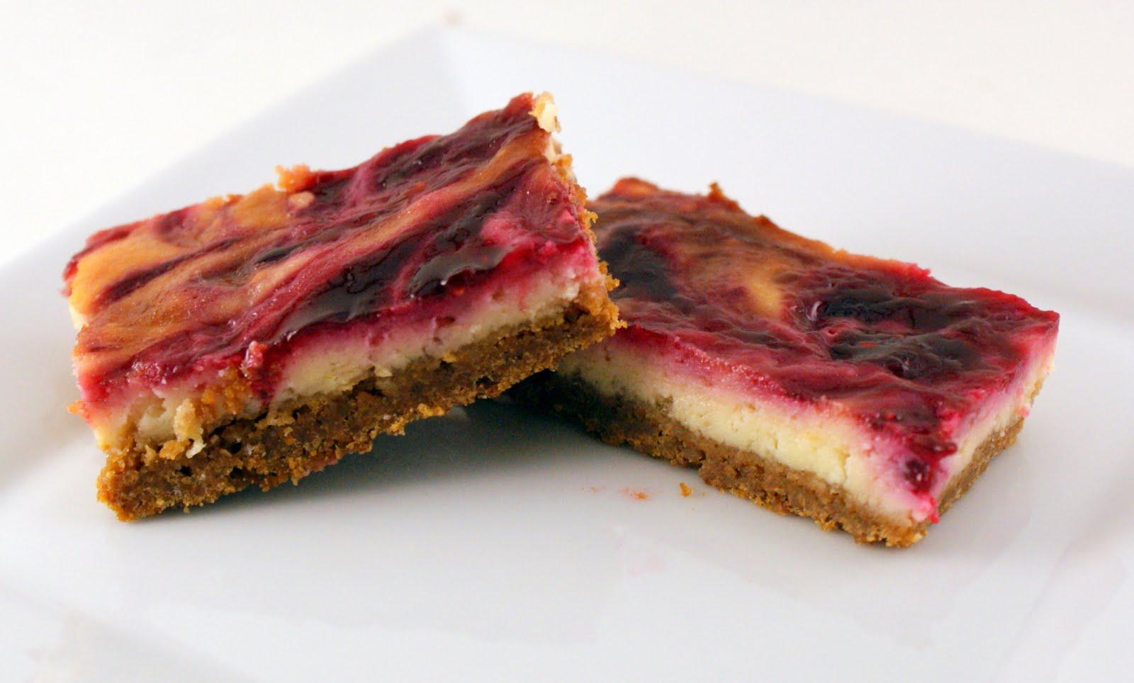 The Merlin Menu: Lime Raspberry Cheesecake Bars