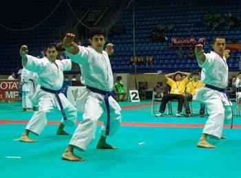 I campioni del mondo di kata.