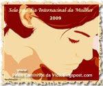 - Selo pelo Dia da Mulher