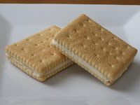 Cheater's Custard Creams