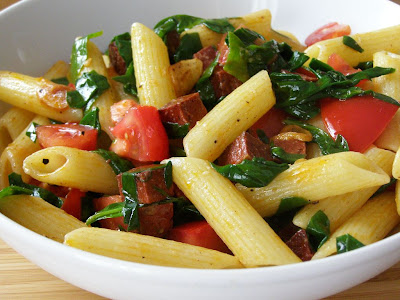 Vegan Tomato and Chorizo Pasta