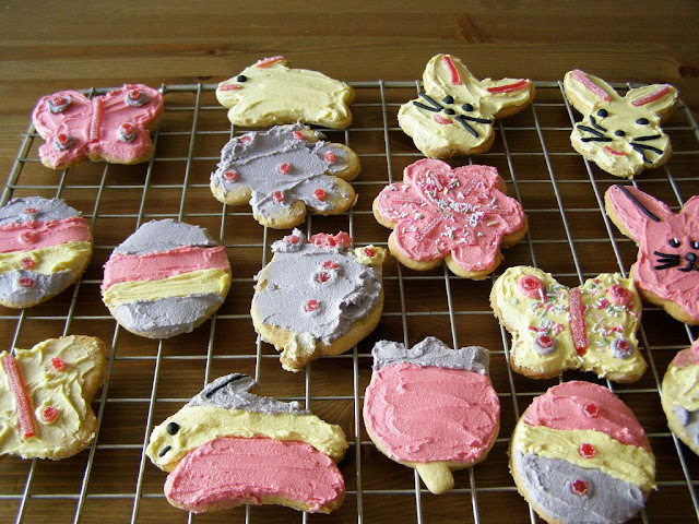 vegan Easter cookies