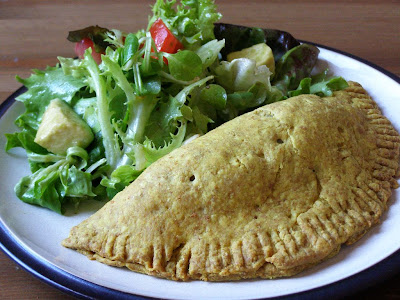 spice: Bryant Terry's Jamaican Veggie Patties with Hot Pepper Sauce ...
