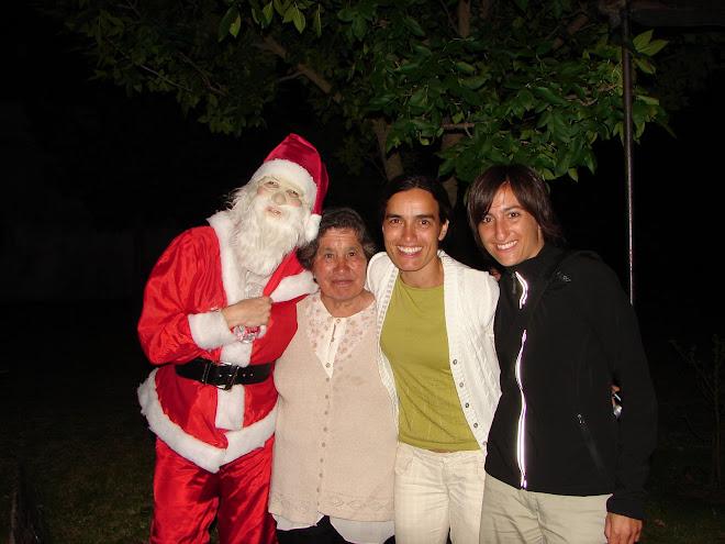y por la noche.. nos atrapó el espíritu navideño
