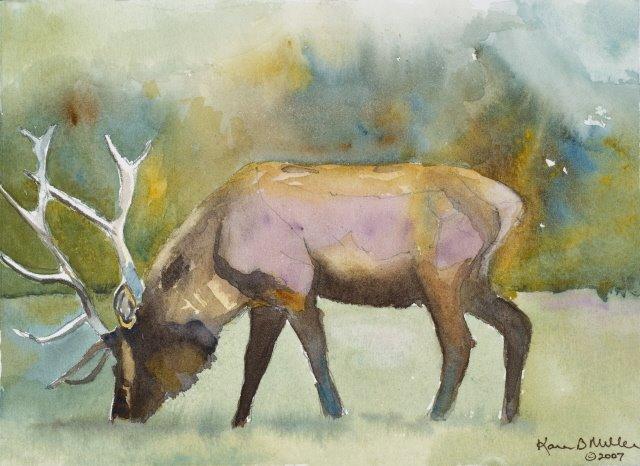 Lavender Elk