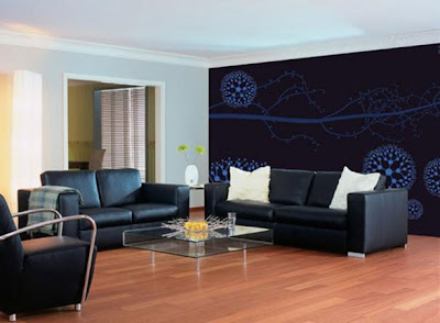 Wall Painting Decoration Modern Interior Bedroom - Pain