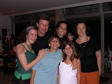 Sofia, Henrique, Tomas, Pituca, Mariana e Elisa