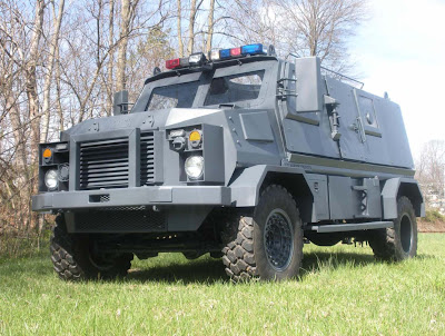 Armored SWAT CAR