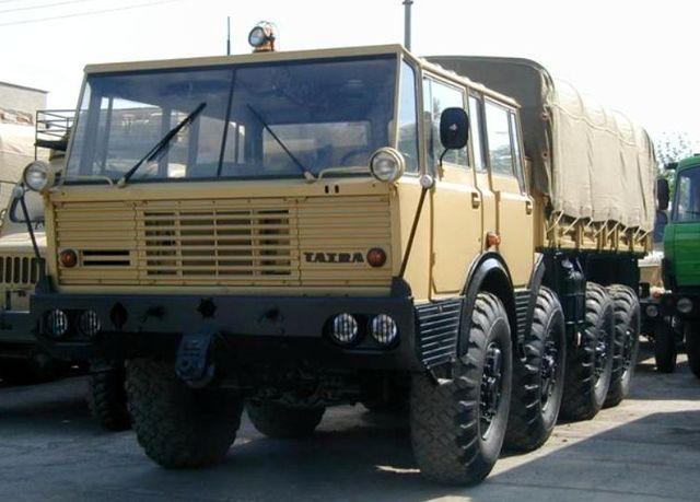 Tatra 8x8 Military Truck