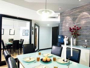 Modern Furnished Apartments With A Combination Of Black And White