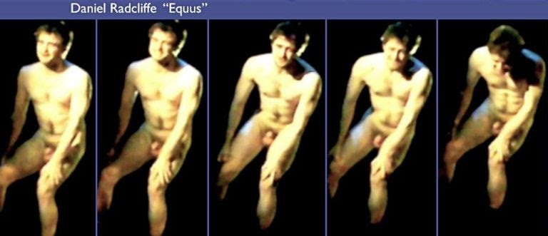 The Male, Nude, Celebrity Body: Daniel Radcliffe in