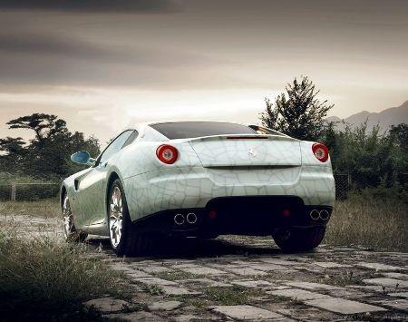 Porcelain Ferrari 599