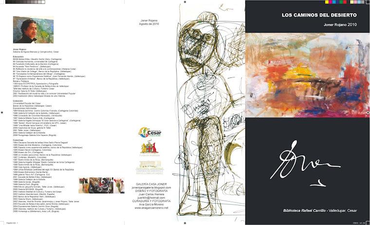 Catálogo plegable 2010, Portada