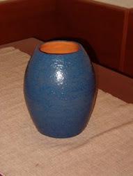 vaso blu