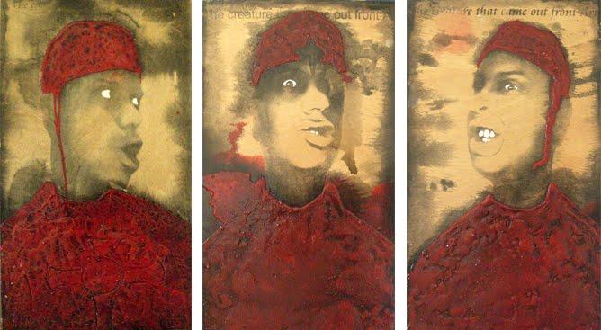 Autorretrato como Savonarola. Serie.