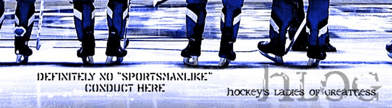 hlog {Hockey&#39;s Ladies of Greatness}